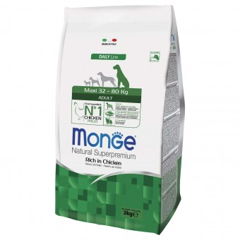 Сухой корм для собак Monge Daily Line - Maxi Adult (3 кг)