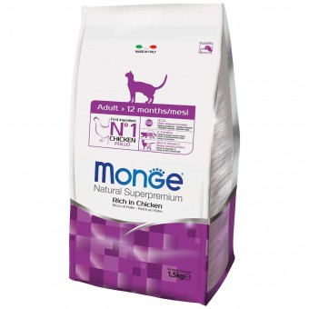 Сухой корм для кошек Monge Daily Line - Adult (1,5 кг)