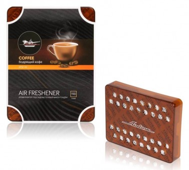 Ароматизатор AirLine Тундра (бодрящий кофе)