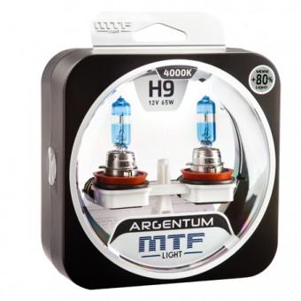 Лампы MTF Argentum +80% H9 (12 V, 65 W, 2 шт)