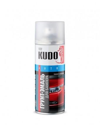 "Краска-спрей ""KUDO"" KU-6202 для бампера Черная (520мл) аэрозоль"