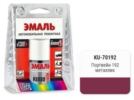 Краска-кисточка KUDO KU-70192 (ВАЗ, 192, портвейн, металлик)