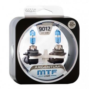 Лампы MTF Argentum +80% HIR2 9012 (12 V, 55 W, 2 шт)