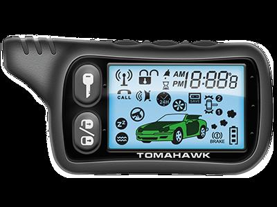 Брелок для а/с Tomahawk TZ-9010 (ж/к)