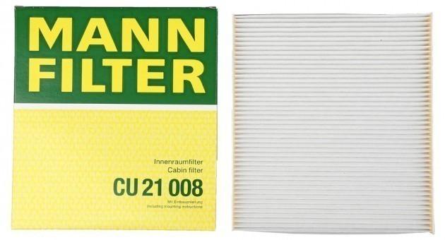 Фильтр салонный MANN-FILTER CU 21 008