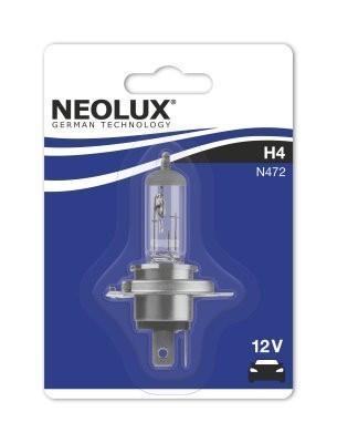 Лампа Neolux H4 Standart (12 В, 55/60 Вт, блистер)