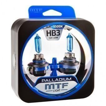 Лампы MTF Palladium HB3 (12 V, 65 W, 2 шт)