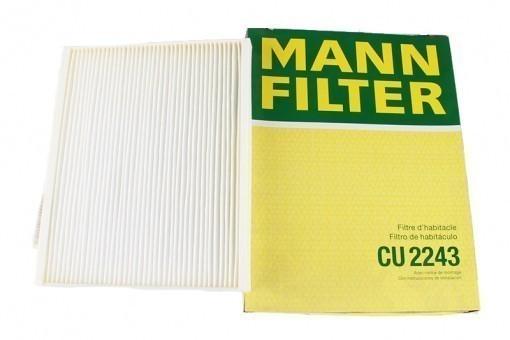 Фильтр салонный MANN-FILTER CU 2243