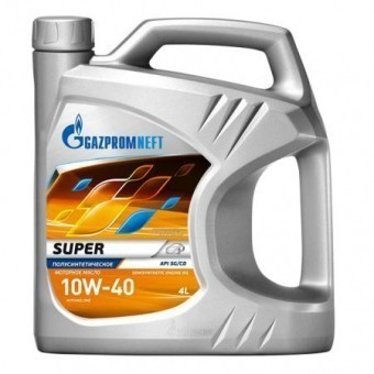 Масло моторное Gazpromneft Super 10W40 (4 л)