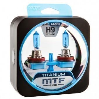 Лампы MTF Titanium H9 (12 V, 65 W, 2 шт)