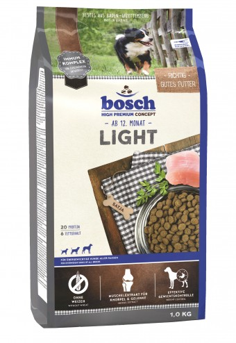 Сухой корм для собак Bosch Light, 1 кг