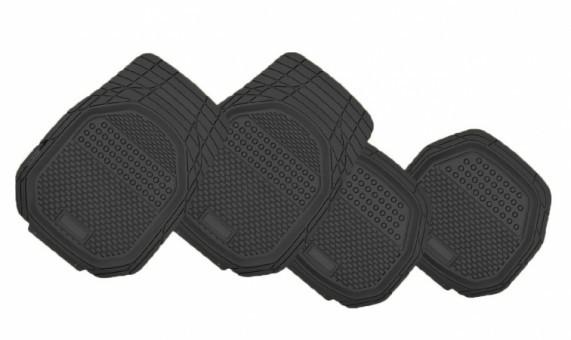 Коврики салонные универсальные Автопилот HX6007 (черные, 4 шт)