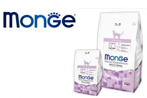 Сухие корма для кошек Monge