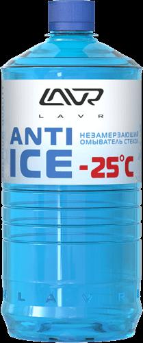 Lavr Ln1310 Незамерзающий очиститель стекол Anti-Ice Premium (-25°C, 1 л)