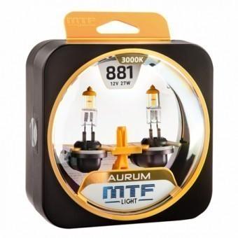 Лампы MTF Aurum H27 881 (12 V, 27 W, 2 шт)