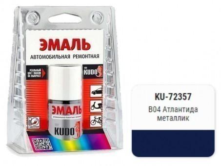 Краска-кисточка KUDO KU-72357 (Hyundai, B04, Атлантида, металлик)