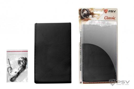 Оплетка руля со шнуровкой PSV Classic (черная, натуральная кожа)