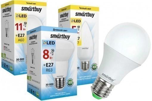 Светодиодные лампы E27 Smartbuy