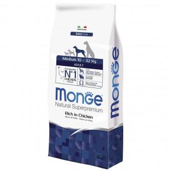 Сухой корм для собак Monge Daily Line - Medium Adult (12 кг)
