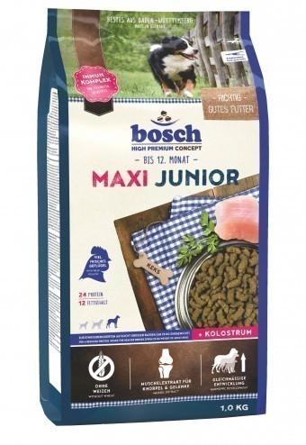 Сухой корм для собак Bosch Maxi Junior, 1 кг