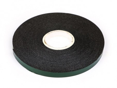 Скотч двусторонний вспененный 5 м x 6 мм (черный)
