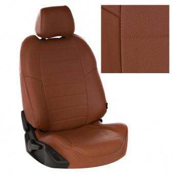 Чехлы Автопилот Лада Гранта (2011>) Luxe - коричневые