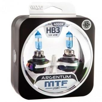 Лампы MTF Argentum +80% HB3 9005 (12v, 65w, H8A12B3, 2шт.)
