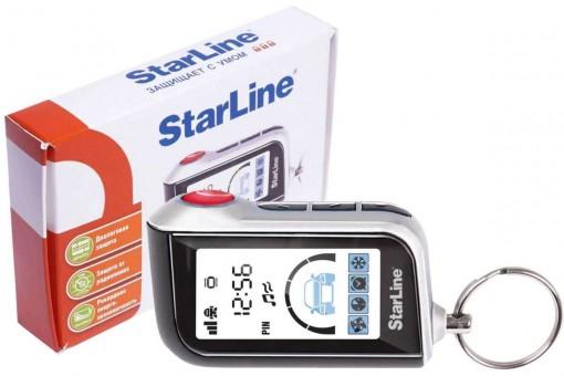 Брелок для а/с StarLine A93/A63 Вертикальный (ж/к, ОРИГИНАЛ)