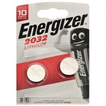 Батарейка CR2032 Energizer Lithium (блистер, 2 шт)