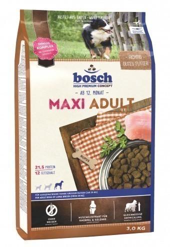 Сухой корм для собак Bosch Maxi Adult, 3 кг