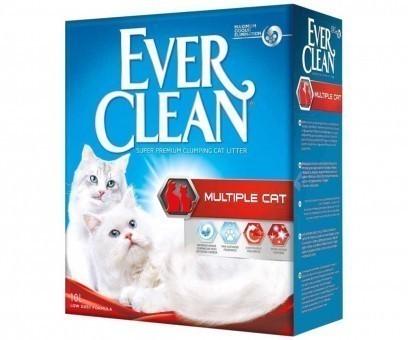 Наполнитель кошачьего туалета Ever Clean Multiple Cat (бентонит, 10 кг, 10 л, свежесть)