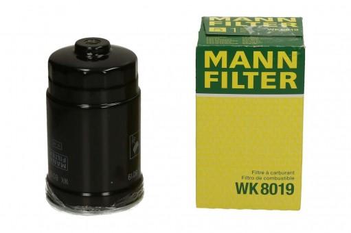 Фильтр топливный MANN-FILTER WK 8019