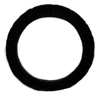 Оплетка руля PSV Frost (черная, меховая)