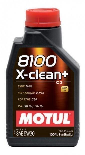 Масло моторное Motul 8100 X-clean+ 5W30 (1 л)
