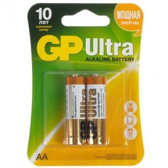 Батарейки AA (LR06) GP Ultra (блистер, 2 шт)