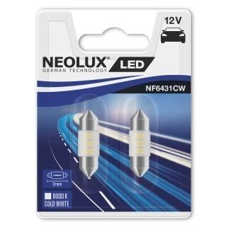 Светодиодные лампы Neolux C5W31 (6000К, 2 шт)