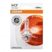 Лампа Osram H7 Original (12 В, 55 Вт, блистер)