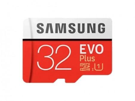Карта памяти microSD Samsung EvoPlus 32 Gb (class 10, U1)