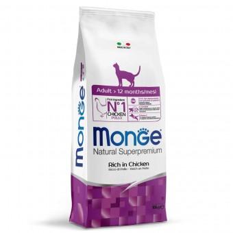 Сухой корм для кошек Monge Daily Line - Adult (10 кг)