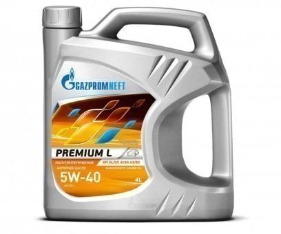 Масло моторное Gazpromneft Premium L 5W-40 (4 л)
