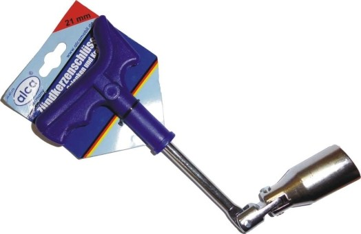 Ключ свечной Alca 421210 (21 мм, усиленный)