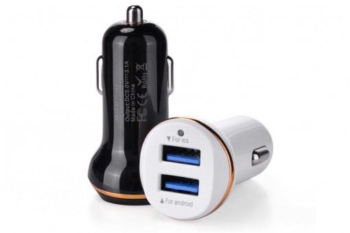 Автомобильные зарядные устройства USB