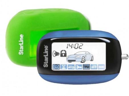 Чехол силиконовый Старлайн B92/B94 (зеленый)