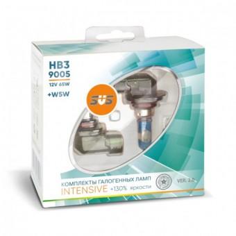 Лампы SVS Intensive +130% HB3 9005 (12 V, 65W, +2 W5W)