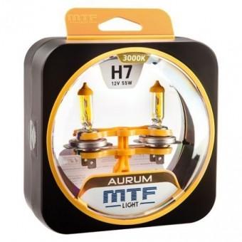Лампы MTF Aurum H7 (12v, 55w, HAU1207, 2шт.)