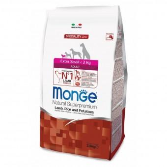 Сухой корм для собак Monge Specialty Line - Extra Small Adult Lamb (2,5 кг)