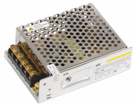 Блок питания IEK (60W, IP20)