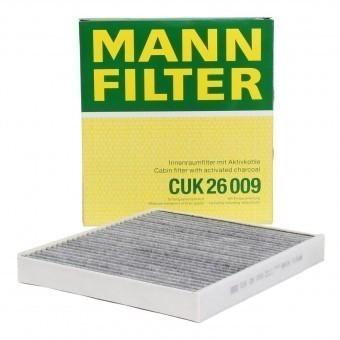 Фильтр салонный MANN-FILTER CUK 26 009 угольный