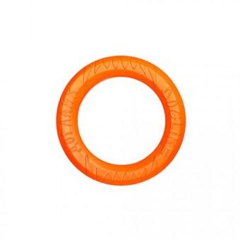 Игрушка DogLike Кольцо восьмигранное (оранжевое, диаметр 12,0 см)