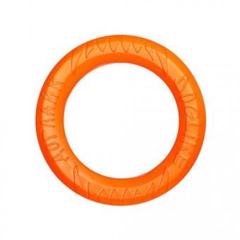 Игрушка DogLike Кольцо восьмигранное (оранжевое, диаметр 20,0 см)